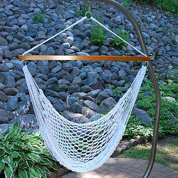 Poly Rope Hammock Chair