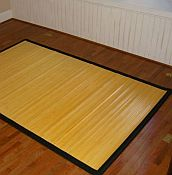 Bamboo Rug -  Contemporary Blonde 4ft x 6ft