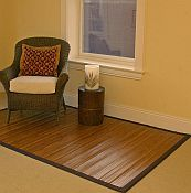 Bamboo Rug -  Contemporary Chocolate 7ft x 10ft