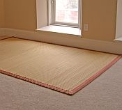 Bamboo Rug -  Heather 7ft x 10ft