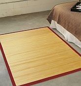 Bamboo Rug -  Contemporary Natural 5ft x 8ft