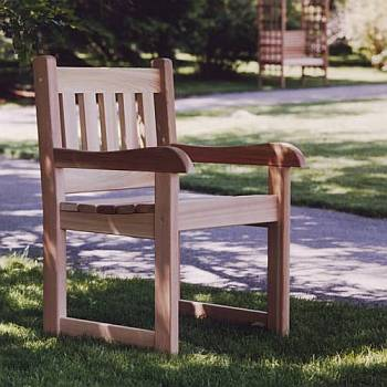 Cedar Arm Chair - Unassembled