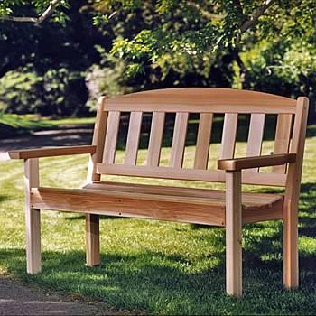Garden Bench - Assembled