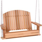 Cedar Garden Porch Swing