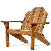 Oak Adirondack Chair