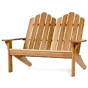 Oak Loveseat