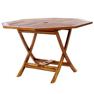 Teak Octagon Table