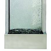 Gardenfall - Glass and Stainless Steel