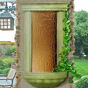 Bellezza Wall Fountain / Weathered