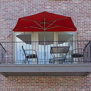 Off-The-Wall-Brella 9ft Half Umbrella - OTWB