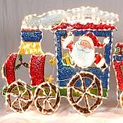 Giant Christmas Train Outdoor Light Set