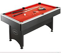 7 Foot Pool Table with Table Tennis Top