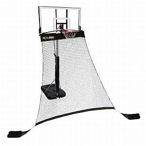 Rolbak Basketball Return Net - Silver