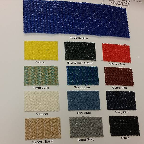 Commercial 95 Custom Shade Fabric Swatch Book