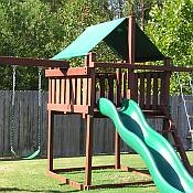 Do-It-Yourself Wooden Swing Set Kits, Plans for Swing Sets