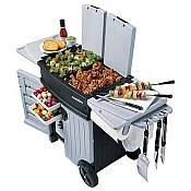 Backyard Barbeque Station