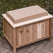 Cedar Storage Bench / Ice Chest