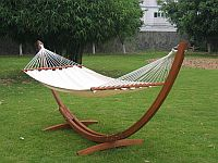 Quilted Hammock with Arc Style Frame