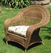 Mandalay Resin Wicker Arm Chair