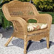 Sahara All Weather Resin Wicker Armchair