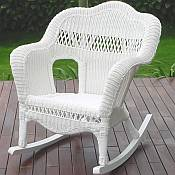 Sahara All Weather Resin Wicker Rocker