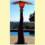 Cool Heat Patio Palm Patio Heater and Misting System