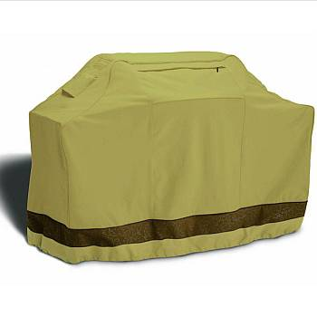 Veranda Elite Patio Cart and BBQ Grill Cover - Large