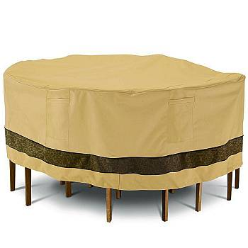 Veranda Elite Patio Round Table and Chair Cover - Large