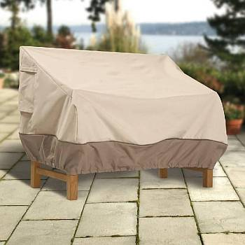 Veranda Protective Outdoor Patio Loveseat and Bench Covers