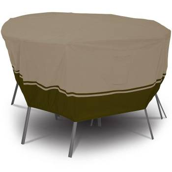 Villa Patio Round Table/Chair Set Cover - Medium