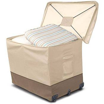Veranda Protective Cushion Bin with Wheels