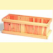 Cedar Window Planter Boxes
