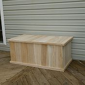 Classic 3ft White Cedar Deck Box