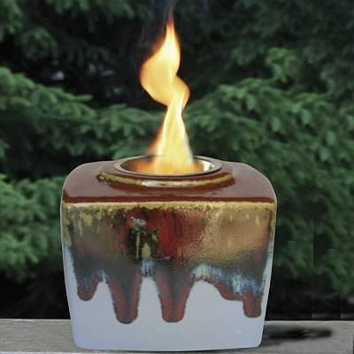 Garnet Emerald Cut Candle / Motif  Jewelry