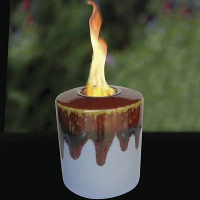 Garnet Round Cut Candle / Motif  Jewelry