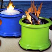 Island Series Gas Fire Pit