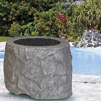 The Rock Gas Fire Pit