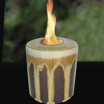 Tigers Eye Round Cut Candle / Motif  Jewelry