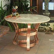 Tuscany Outdoor Firepit Table