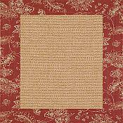 Chiswell  Ruby Outdoor Rug - 6 ft 7 in x 9 ft 2 in