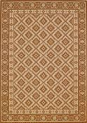 Diamond Bronze Outdoor Rug - 5ft 3in by 7ft 6in