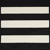 Cabana Stripes Outdoor Rugs<br>Tuxedo