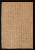 Castaway Black/Camel Outdoor Rug - 5 ft x 7ft