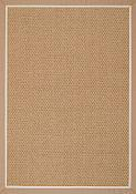 Castaway Camel/Antique Beige Outdoor Rug - 8 ft x 11 ft