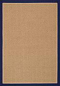 Castaway Navy/Camel Outdoor Rug - 5 ft x 7ft