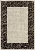 Foulard Black Outdoor Rug - 2ft 7in by 4ft 11in