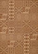 Elements Coffee Outdoor Rug - 1ft 11in by 2ft 10in