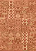 Elements Terracotta Outdoor Rug - 1ft 11in by 2ft 10in