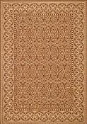 Filigree Coffee Outdoor Rug - 3ft 11in by 5ft 6in