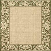 Finesse Kimono Outdoor Rug - 5ft 3in x 7ft 6in - Leaf Green